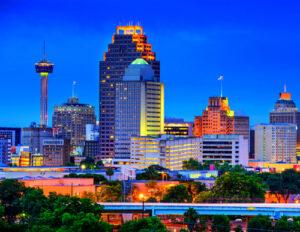 San Antonio Skyline
